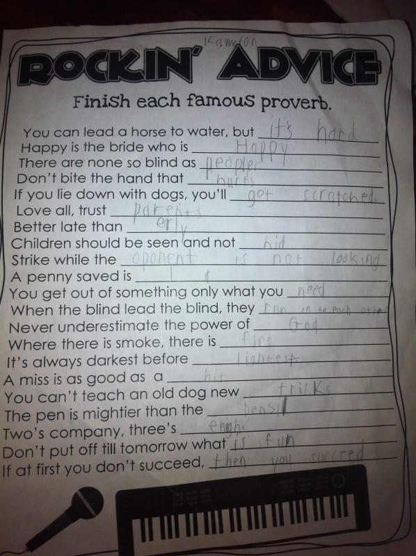 Love All, Trust Parents