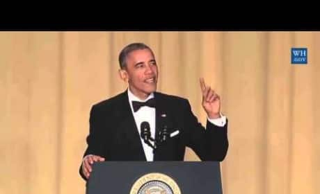 White House Correspondent's Dinner: President Obama Cracks Us Up