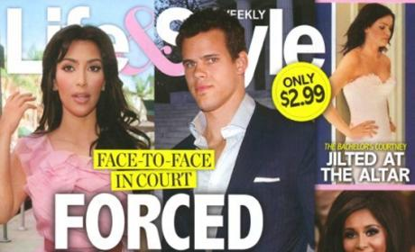 Who do you blame more for the divorce drama between Kim and Kris?
