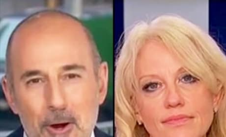 Matt Lauer to Kellyanne Conway: WTH Are You Talking About?