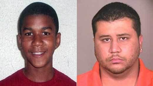 Trayvon Martin and George Zimmerman