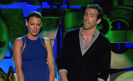 Ryan Reynolds and Blake Lively Pic