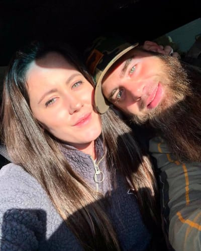 Jenelle Evans and David Eason in December
