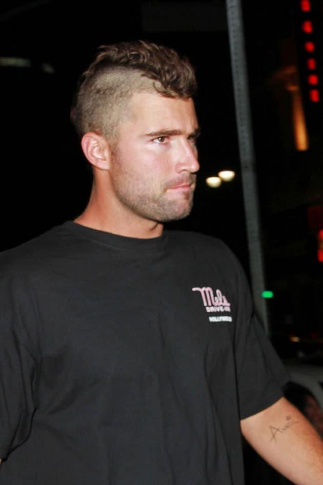Brody Jenner Mohawk