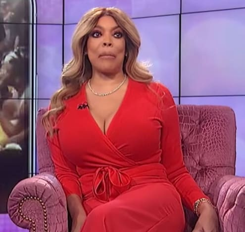 Wendy Williams in Red