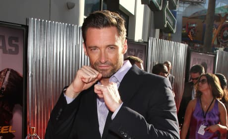 Who looked hotter at the Real Steel premiere?