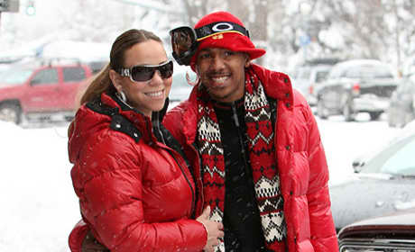 What do you think of Mariah Carey and Nick Cannon's matching outfits?