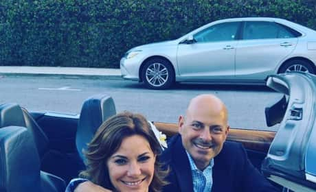 LuAnn de Lesseps & Tom D'Agostino Are Officially Married!