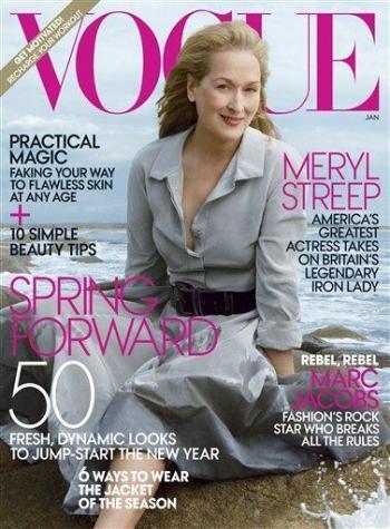 Meryl Streep Vogue Cover