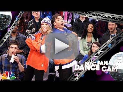 Jimmy Fallon and Taylor Swift Do Jumbotron Dancing