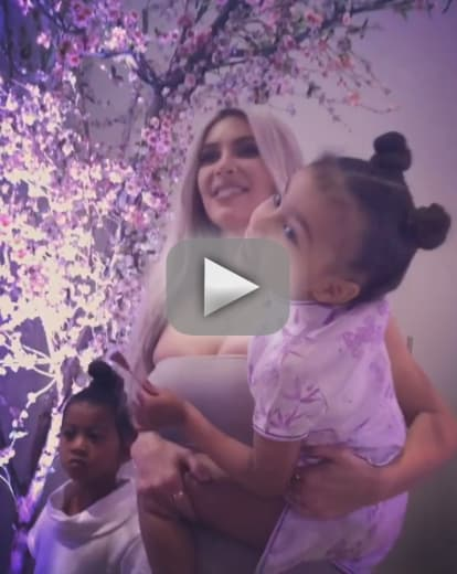 Kim kardashian see her third baby shower