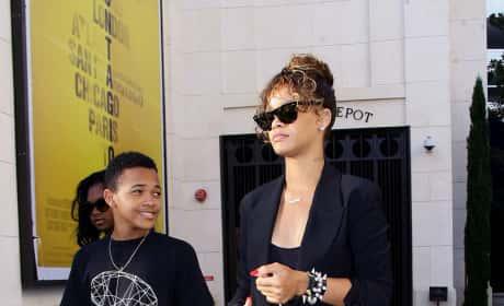 Rihanna, Brother Rajad