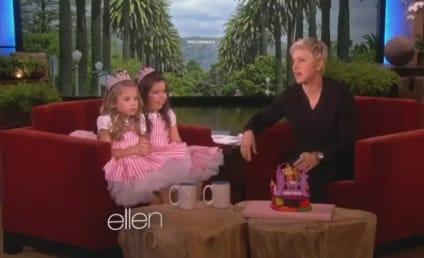 """Sophia Grace & Rosie Perform """"I Knew You Were Trouble"""" on Ellen"""