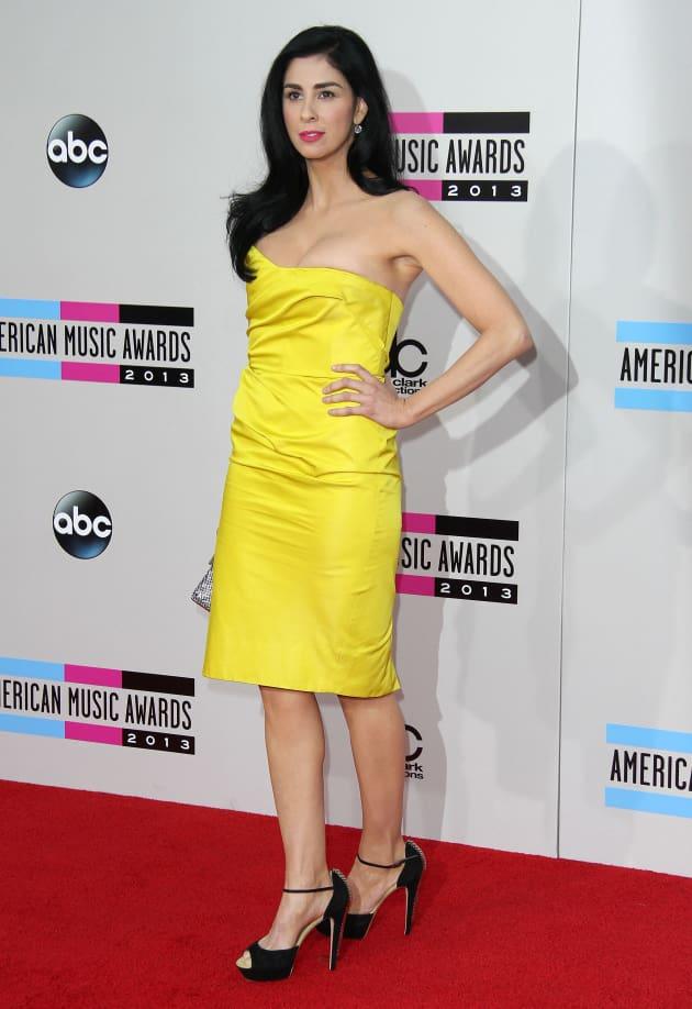 Sarah Silverman at American Music Awards