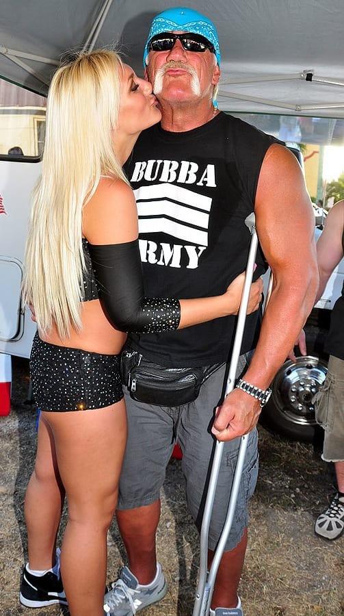 Brooke and Hulk Hogan Photo