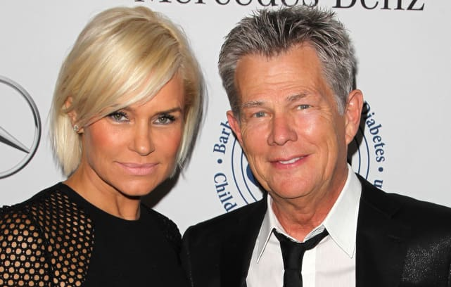 Yolanda Foster officially files for divorce from David ...