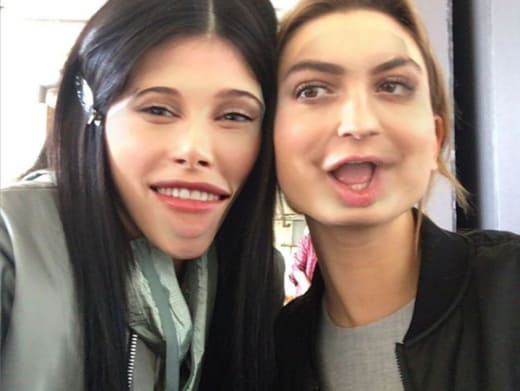 Kylie Jenner and Hailey Baldwin Ugly Pic