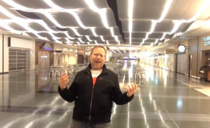 "Awesome Guy Gets Stranded at Las Vegas Airport, Records ""All By Myself"" Music Video"