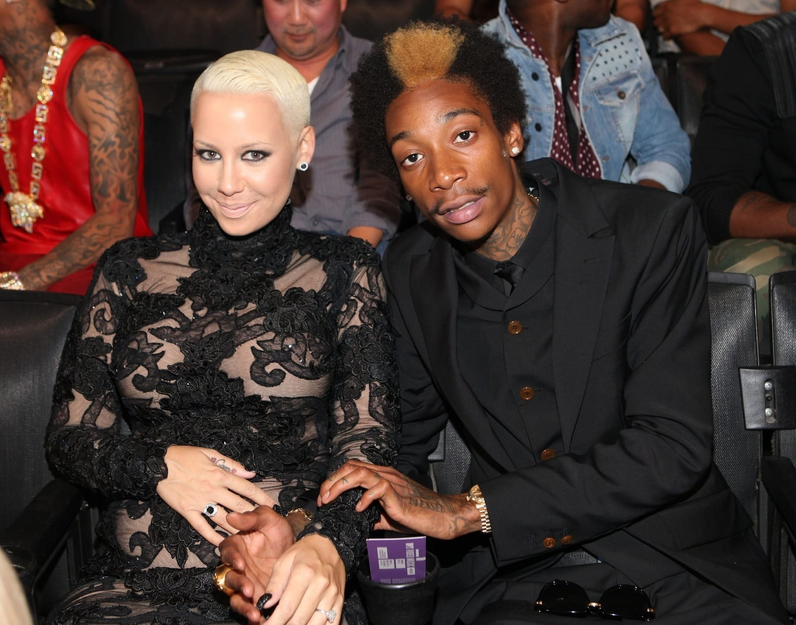 55328ae3d9332 Amber Rose and Wiz Khalifa to Teach Son About Pot - The Hollywood Gossip