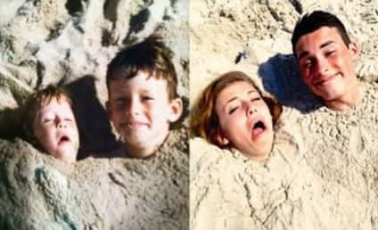 21 Childhood Photos Reenacted By Adults: The More Things Change ...