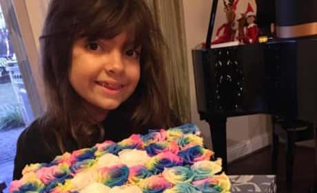 Sophia Abraham Has Custom Roses