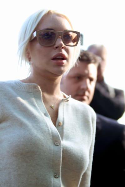 Lindsay Lohan, Sweater