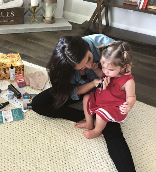 Bristol Palin Makes Up Daughter