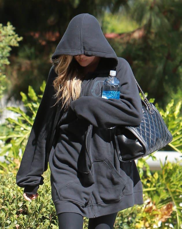 Khloe Kardashian in Black