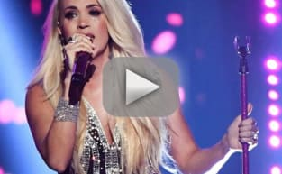 Carrie Underwood Makes (Very!) Emotional Return to Stage at 2018 ACM Awards