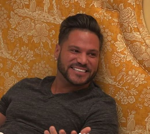 Ronnie Ortiz-Magro on the Shore