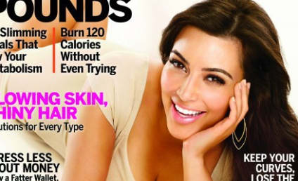 Kim Kardashian Shrugs Off Rumors, Claims Natural Rear End