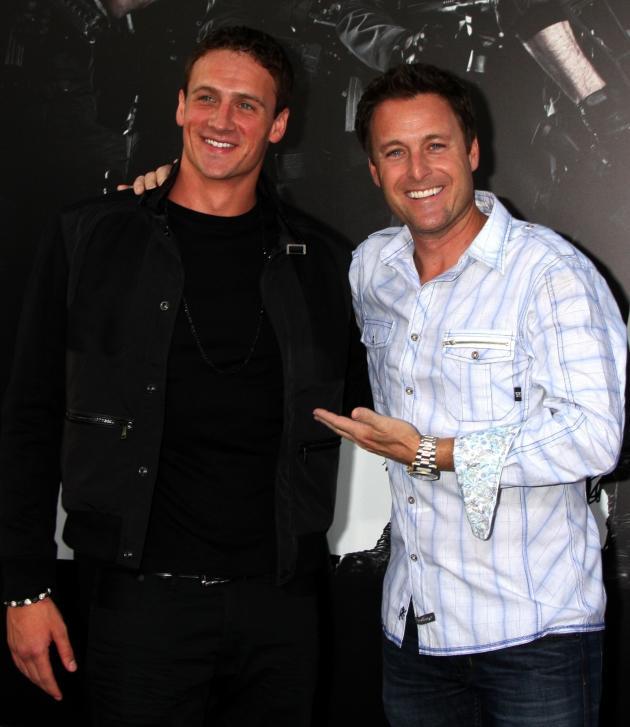 Ryan Lochte and Chris Harrison