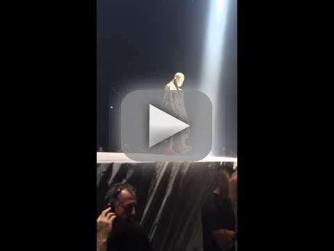 Kanye West Talks Sh-t on Stage