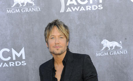 Keith Urban at the 2014 ACMs