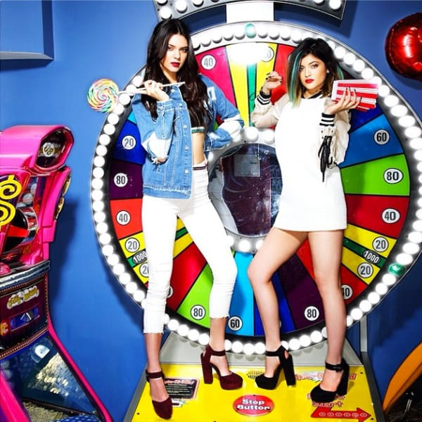 Kendall and Kylie Jenner For Madden Girl
