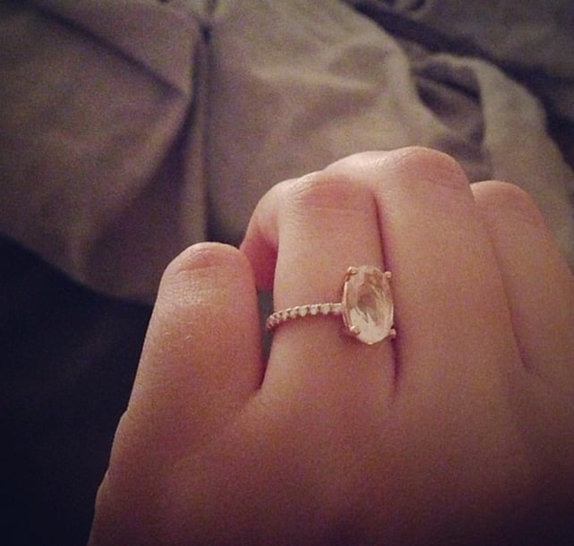 23 Celebrity Engagement Rings That Will Leave You Temporarily Blind