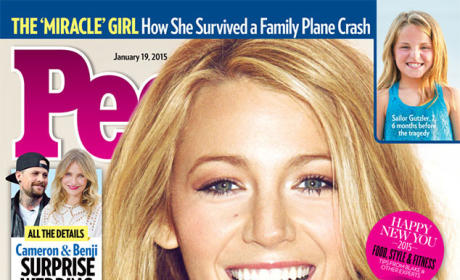 Blake Lively People Cover