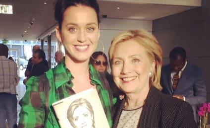 Katy Perry: Hillary Clinton 2016!
