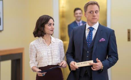 Vanessa Hudgens and Alan Tudyk on NBC's Powerless