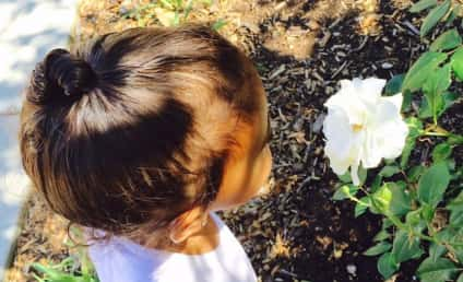 North West Stops to Smell the Roses