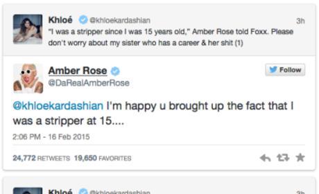 Amber Rose - Khloe Kardashian Twitter War