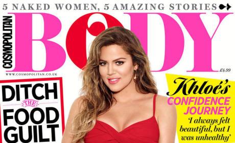 Khloe Kardashian for Cosmo Body