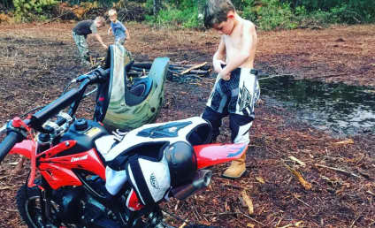 Jenelle Evans Lets Jace Ride Dirt Bikes: Are Her Kids in Danger?!?
