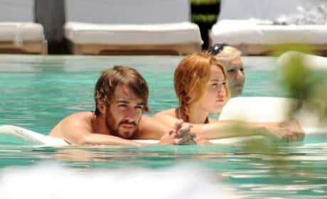 Miley Cyrus and Cheyne Thomas