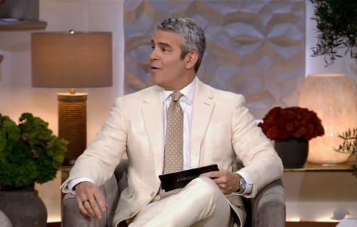 Andy Cohen Hosts the KUWTK Finale Reunion