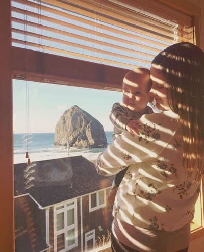 Tori Roloff and Jackson, Window Blinds