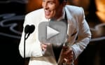 Matthew McConaughey Oscars Speech