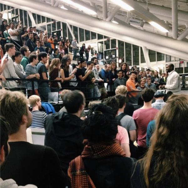 Kanye West at Harvard