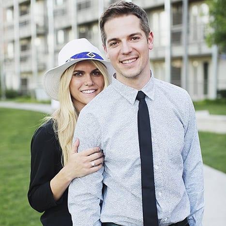 Lauren Scruggs and Jason Kennedy