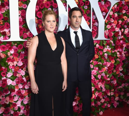 Amy Schumer and Her Husband